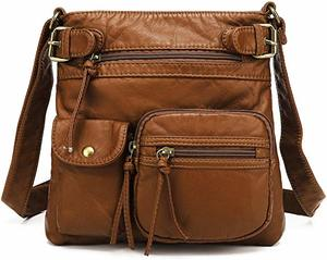 2. Scarleton Multi Pocket Crossbody Bag