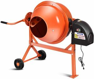 3. Goplus Electric Cement Concrete Mixer