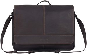 3. Kenneth Cole Reaction Business Leather Crossbody Messenger Bag