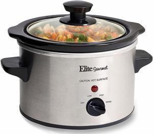 4. Elite Gourmet MST-250XS Electric Slow Cooker