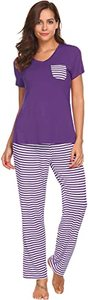 5. Hotouch Womens Pajamas Pants Sets
