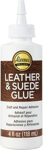 6. Aleene's15594 Leather & Suede Glue 4oz