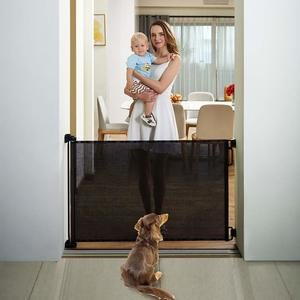 6. EasyBaby Products Indoor Outdoor Retractable Baby Gate