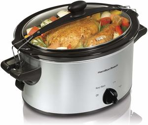 7. Hamilton Beach (33249) Slow Cooker