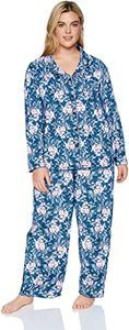 7. Karen Neuburger Women's Long-Sleeve Pajama Set Pj(1)