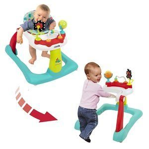7. Kolcraft Tiny Steps 2-in-1 Baby Activity Walker
