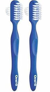 7. Oral-B Denture Brushes Dual Head - Pack of 2
