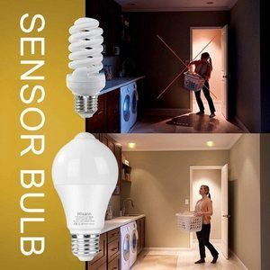 7. Wixann 12W Motion Sensor Light Bulbs