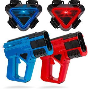 #8 SHARPER IMAGE 2-Player Toy Laser Tag