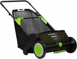 #9 Earthwise LSW70021 21-Inch Grass and Leaf Push Lawn Sweeper