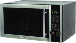 #9. Magic Chef MCM1110ST 1.1 Cu. Ft. Black Countertop Microwave Oven 1000W