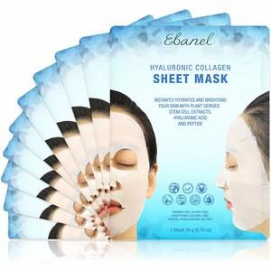 #1 Ebanel 5-Pack Hydrogel Collagen Mask for Face