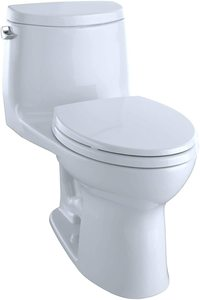 #1 Toto MS604114CEFG#01 Ultra-Max II One-Piece Elongated 1.28 GPF