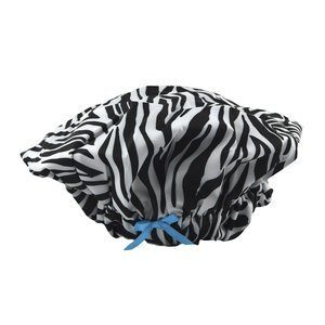 1. Betty Dain Fashionista Collection Lined Shower Cap
