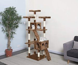 #1. Go Pet Club 72-Inch Cat Tree