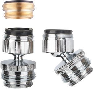 1. Multi-Thread Garden Hose Adapter for Male to Male and Female to Male