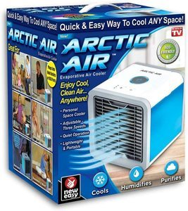 1. Ontel Arctic Personal Air Cooler, White