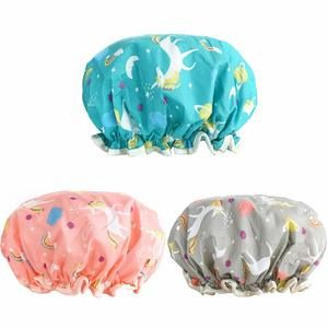 10. AIPAO 3 PACK Bath Cap for Women
