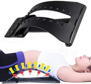 10. Magic Back Stretcher Lumbar Support Device