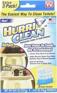 #12 Ontel HurriClean Automatic Toilet & Tank Cleaner