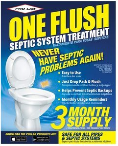 #14 ONE FLUSH Septic Tank Treatment
