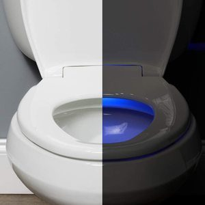 #15 BEMIS Radiance Heated Night Light Toilet Seat