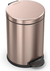 #2 simplehuman, Rose Gold Trash Can