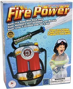 2. Aeromax Fire Power Super Fire Hose with Backpack