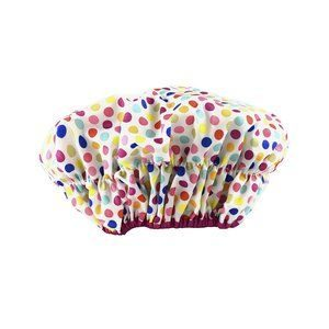 2. Betty Dain Fashionista Collection Lined Shower Cap