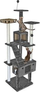 #2. Furhaven Pet Tiger Tough Cat House Tree Condo
