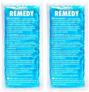 2. Gel Ice Packs for Injuries (2 Pack)