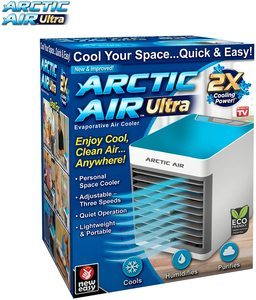2. Ontel Arctic Ultra Seen On TV Evaporative Portable Air Conditioner
