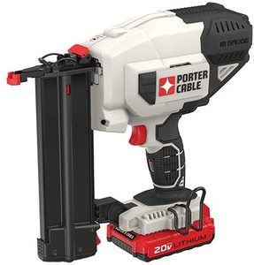 2. PORTER-CABLE 20V MAX Cordless Brad Nailer Kit