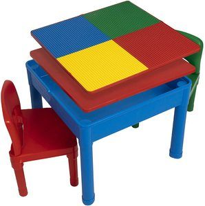 2. Play Platoon Kids Activity Table Set - 5 in 1