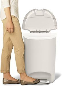 #3 simplehuman 50 Liter Semi-Round Trash Can