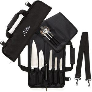 3. Chef Knife Roll Bag (6 slots) is Padded