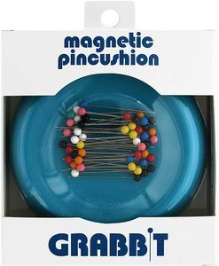 3. Grabbit Magnetic Sewing Pincushion, Teal
