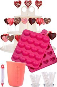 3. I Heart Cake Pops - Jam packed with silicone cakepop baking mold