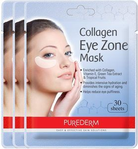 #4 PUREDERM Collagen Eye Zone Mask Pad Patches