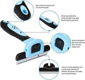 #4 Pet Grooming Brush Effectively Reduces Shedding