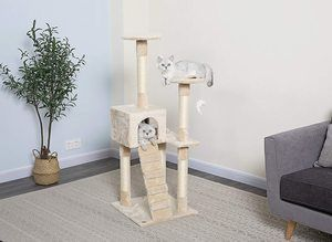 #4. Go Pet Club Cat Furniture Tree
