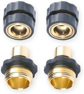 5. 3 4 Garden Hose Quick Connector Value Pack