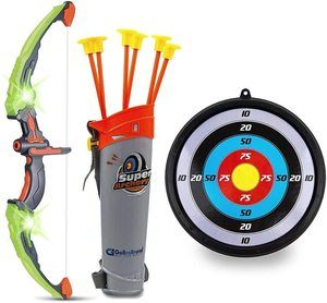 5. GoBroBrand Bow and Arrow Set for Kids