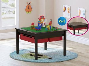 5. UTEX 2 in 1 Kids Construction Play Table
