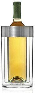 5. Wine Enthusiast Double Walled Iceless Wine Bottle Chiller