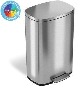 #6 iTouchless SoftStep Trash Can