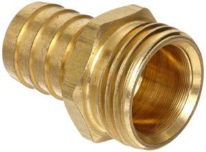 6. Anderson Metals Brass Garden Hose Fitting