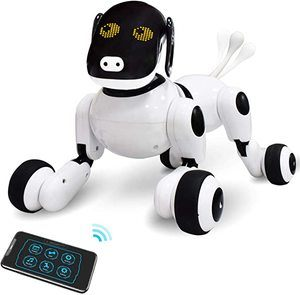 6. ONEASIA Puppy Smart Voice & App Interactive Toy