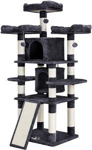 #6.FEANDREA Multi-Level 67-inch Cat Tree