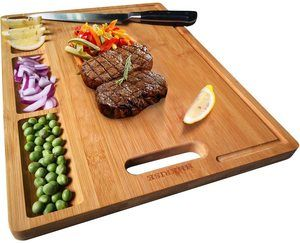 #7 HHXRISE Large Bamboo Cutting Board